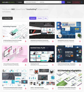 25 Marketing Powerpoint Templates: Best Ppts To Present Your within What Is Template In Powerpoint