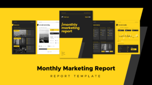 25 Powerful Report Presentations And How To Make Your Own with regard to Monthly Report Template Ppt