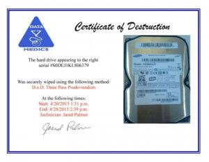 26 Images Of Attestation Of Data Destruction Template Matyko in Hard Drive Destruction Certificate Template