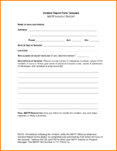 26 Images Of Dental Injury Template | Unemeuf in Office Incident Report Template