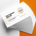 27+ Creative Restaurant Business Card Templates – Ai, Apple Within Food Business Cards Templates Free