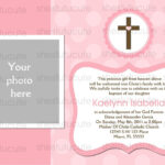 27 Images Of Blank Baptism Template   Elcarco Within Blank Christening Invitation Templates