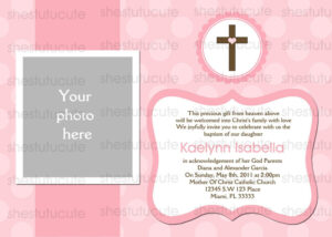 27 Images Of Blank Baptism Template | Elcarco within Blank Christening Invitation Templates