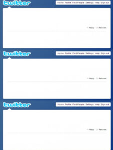 27 Images Of Blank Twitter Profile Template | Matyko for Blank Twitter Profile Template