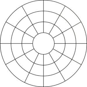 27 Images Of Blank Wheel Template 6 Sections | Nategray regarding Blank Color Wheel Template
