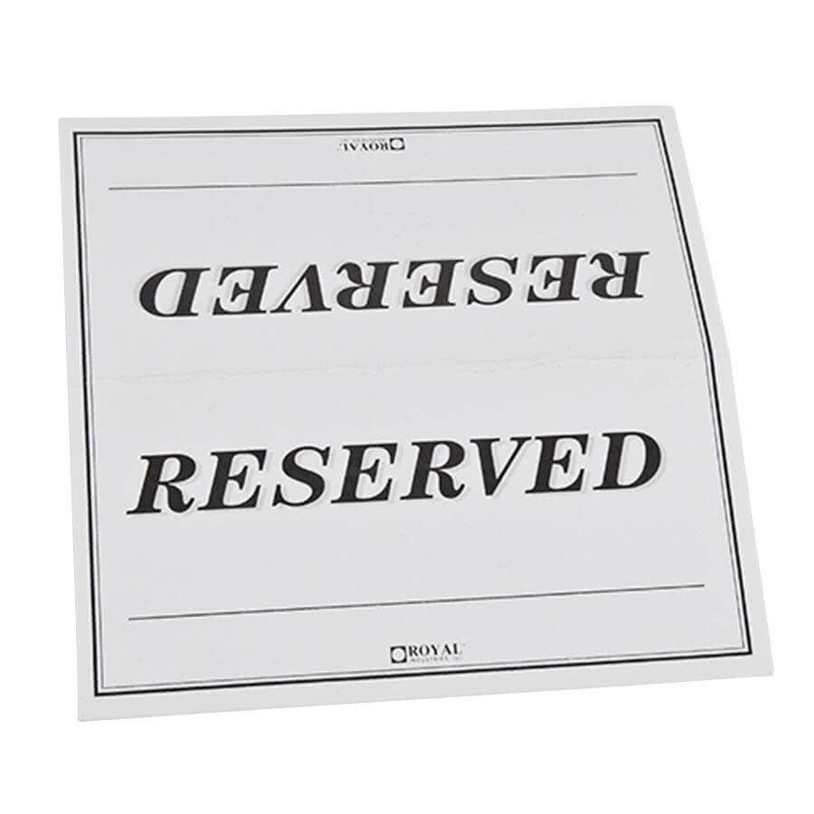 27 Images Of College Table Signs Template | Masorler With Reserved Cards For Tables Templates