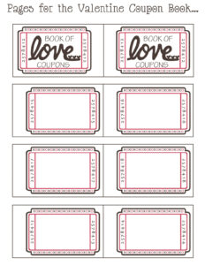 27 Images Of Coupon Book Template Word | Bfegy pertaining to Love Coupon Template For Word