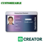 27 Images Of Online School Id Card Template   Masorler Regarding High School Id Card Template