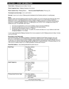 27 Images Of Post-Event Report Template   Bfegy throughout After Event Report Template