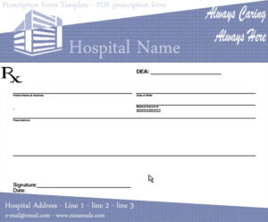 27 Images Of Sample Prescription Form Template | Nategray throughout Blank Prescription Form Template