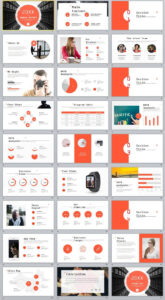 27+ Red Company Annual Report Powerpoint Templates | 2018 with regard to Annual Report Ppt Template