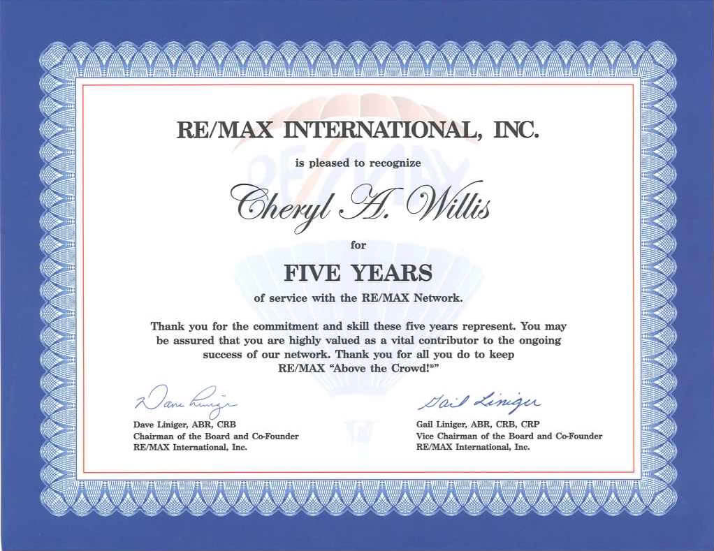 28 Images Of 10 Year Anniversary Certificate Template With Regard To Employee Anniversary Certificate Template