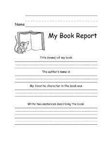 28 Images Of 3Rd Grade State Report Template | Krydia pertaining to Paper Bag Book Report Template