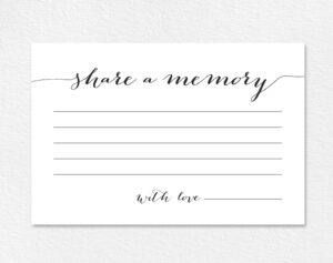 28 Images Of Favorite Birthday Memory Template | Nategray in In Memory Cards Templates