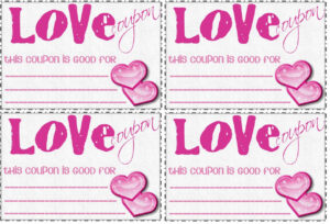 28 Images Of For Him Love Coupons Template | Nategray within Love Coupon Template For Word