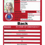 28 Images Of Ice Contact Card Template | Bfegy Throughout In Case Of Emergency Card Template