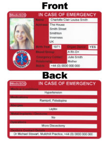 28 Images Of Ice-Contact Card Template | Bfegy throughout In Case Of Emergency Card Template