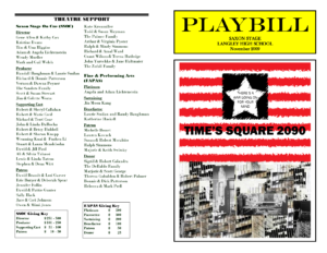 28 Images Of Movie Playbill Template | Nategray for Playbill Template Word