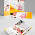 29 Best Free Brochure Mockups & Psd Templates 2019 – Colorlib Throughout 2 Fold Brochure Template Free