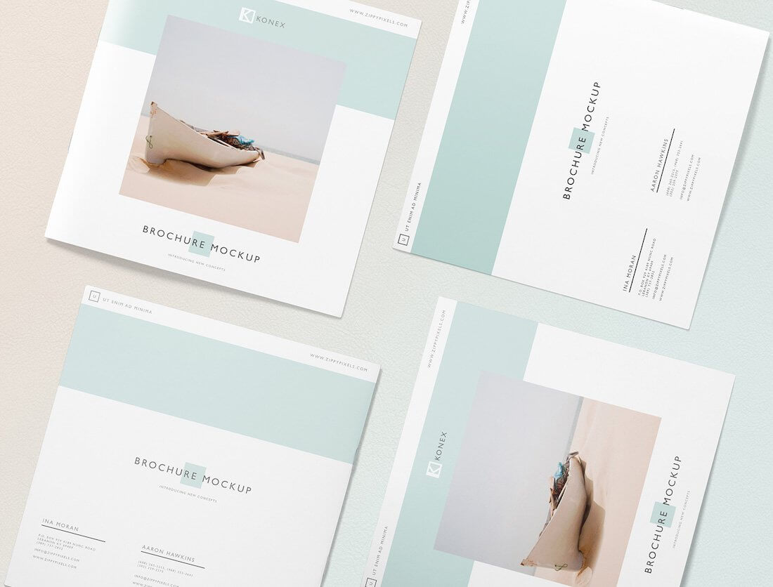 29 Best Free Brochure Mockups & Psd Templates 2019 – Colorlib With Fancy Brochure Templates