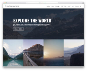 29 Best Free Travel Website Templates 2019 – Colorlib in Travel And Tourism Brochure Templates Free
