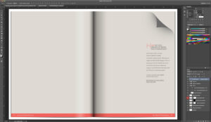 29 Images Of Photoshop Magazine Layout Blank Template for Blank Magazine Template Psd