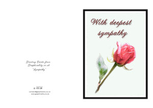 29 Images Of Printable Template For Sympathy Cards for Sympathy Card Template