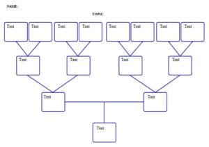 3 Generation Genogram Template Word Powerpoint Example intended for Genogram Template For Word