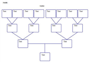 3 Generation Genogram Template Word Powerpoint Example regarding Family Genogram Template Word