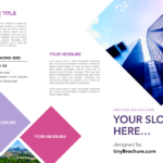 3 Panel Brochure Template Google Docs Intended For Brochure Templates For Google Docs