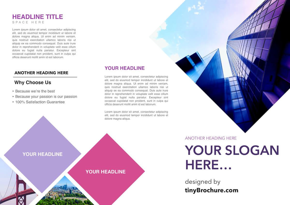 3 Panel Brochure Template Google Docs Pertaining To Google Docs Travel Brochure Template