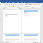 3 Simple Steps To Create An Employee Training Manual For With Regard To Training Documentation Template Word