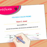 3 Ways To Make A Certificate – Wikihow Within Award Certificate Template Powerpoint