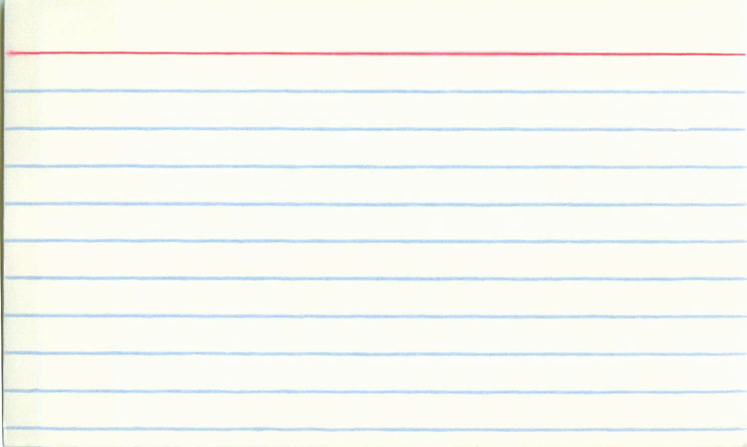 3 X 5 Index Card Template 8 Things You Need To Know About In 5 By 8 Index Card Template