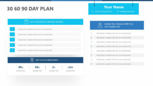 30 60 90 Day Plan For Powerpoint – Pslides intended for 30 60 90 Day Plan Template Powerpoint