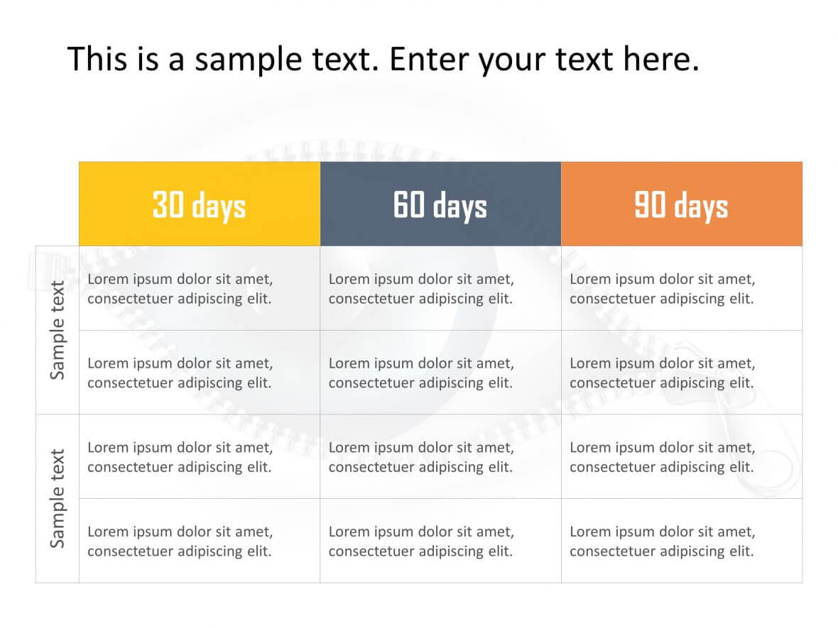 30 30 30 day plan template powerpoint   Rengu