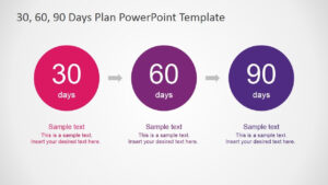 30 60 90 Days Plan Powerpoint Template | Sales | 90 Day Plan with regard to 30 60 90 Day Plan Template Powerpoint