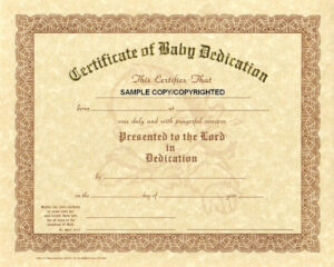 30 Baby Dedication Certificate Wording | Pryncepality in Baby Dedication Certificate Template