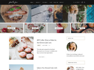 30+ Best Food WordPress Themes For Sharing Recipes 2019 throughout Blank Food Web Template