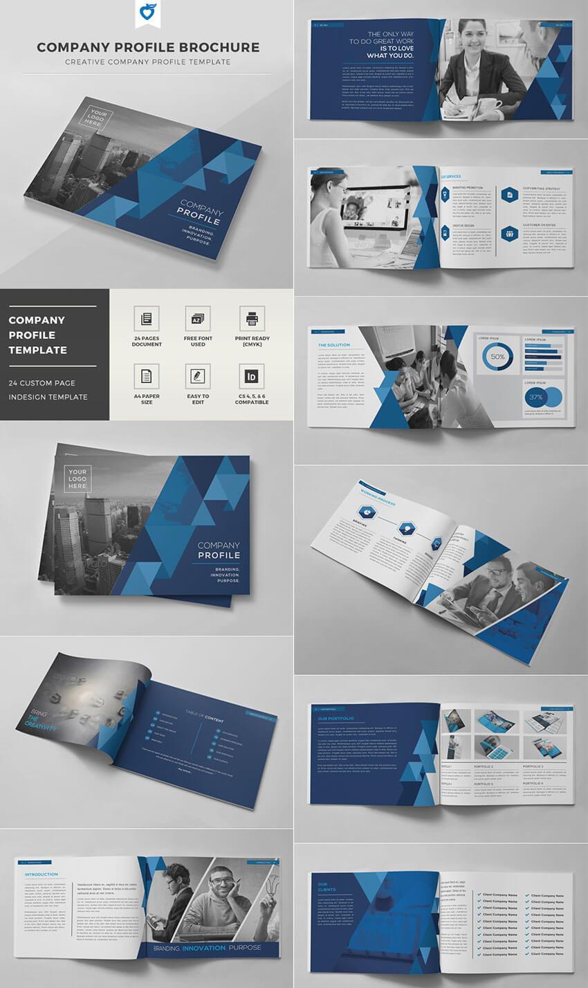 30 Best Indesign Brochure Templates - Creative Business Inside Brochure Template Indesign Free Download
