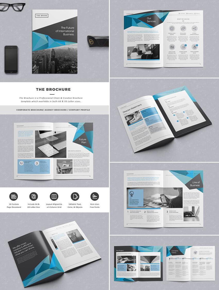 30 Best Indesign Brochure Templates - Creative Business Regarding Indesign Templates Free Download Brochure