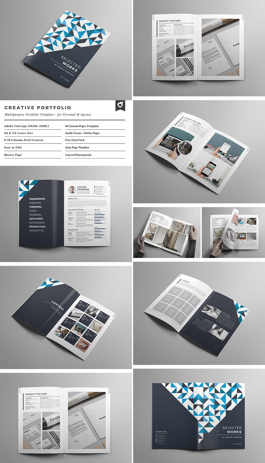 30 Best Indesign Brochure Templates – Creative Business With Brochure Template Indesign Free Download