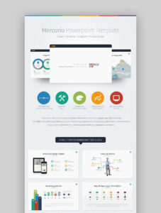 30 Best Infographic Powerpoint Presentation Templates—With with regard to Biography Powerpoint Template