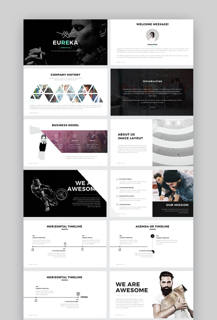 30+ Best Powerpoint Slide Templates (Free + Premium Ppt Designs) For Powerpoint Photo Slideshow Template
