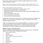 30+ Business Report Templates & Format Examples ᐅ Template Lab inside Simple Business Report Template
