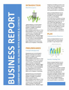 30+ Business Report Templates & Format Examples ᐅ Template Lab intended for Good Report Templates