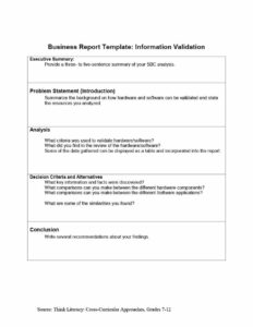 30+ Business Report Templates & Format Examples ᐅ Template Lab with Recommendation Report Template