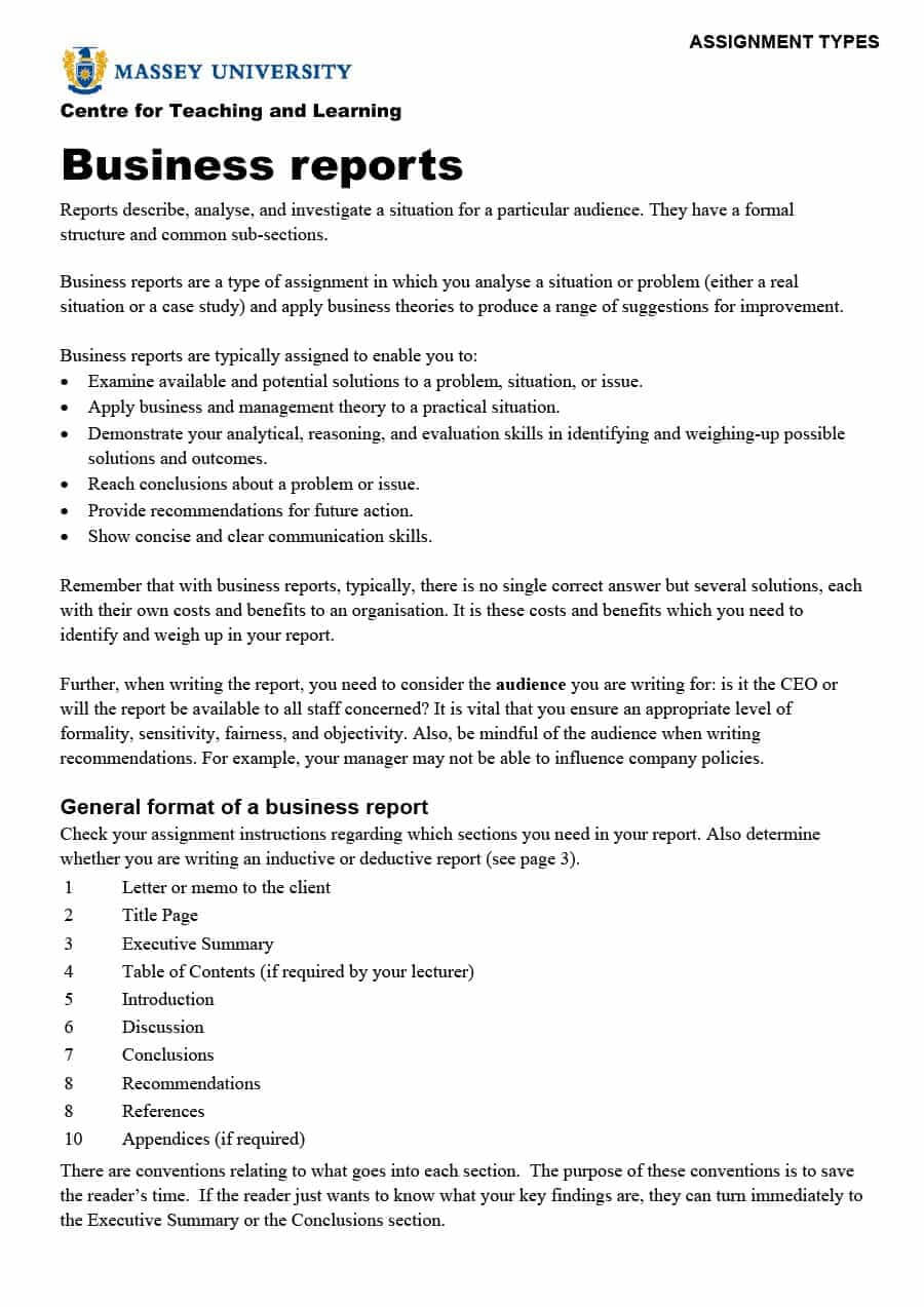 30+ Business Report Templates & Format Examples ᐅ Template Lab With Regard To Report Writing Template Download