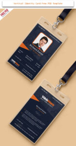 30 Creative Id Card Design Examples With Free Download within Id Card Template Ai