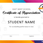 30 Free Certificate Of Appreciation Templates And Letters for Felicitation Certificate Template